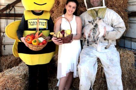 עם דבוראי ישראל במכוורות ברחבי הארץ