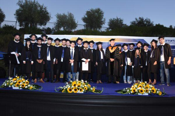 טקס הענקת תארים חגיגי במכללה האקדמית להנדסה אורט בראודה